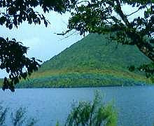 榛名湖景色