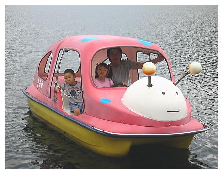てんとう虫 ペダルボート