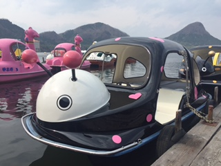 ピンクてんとうむしボート