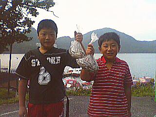 榛名湖わかさぎ釣果